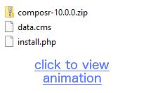 File upload demonstration