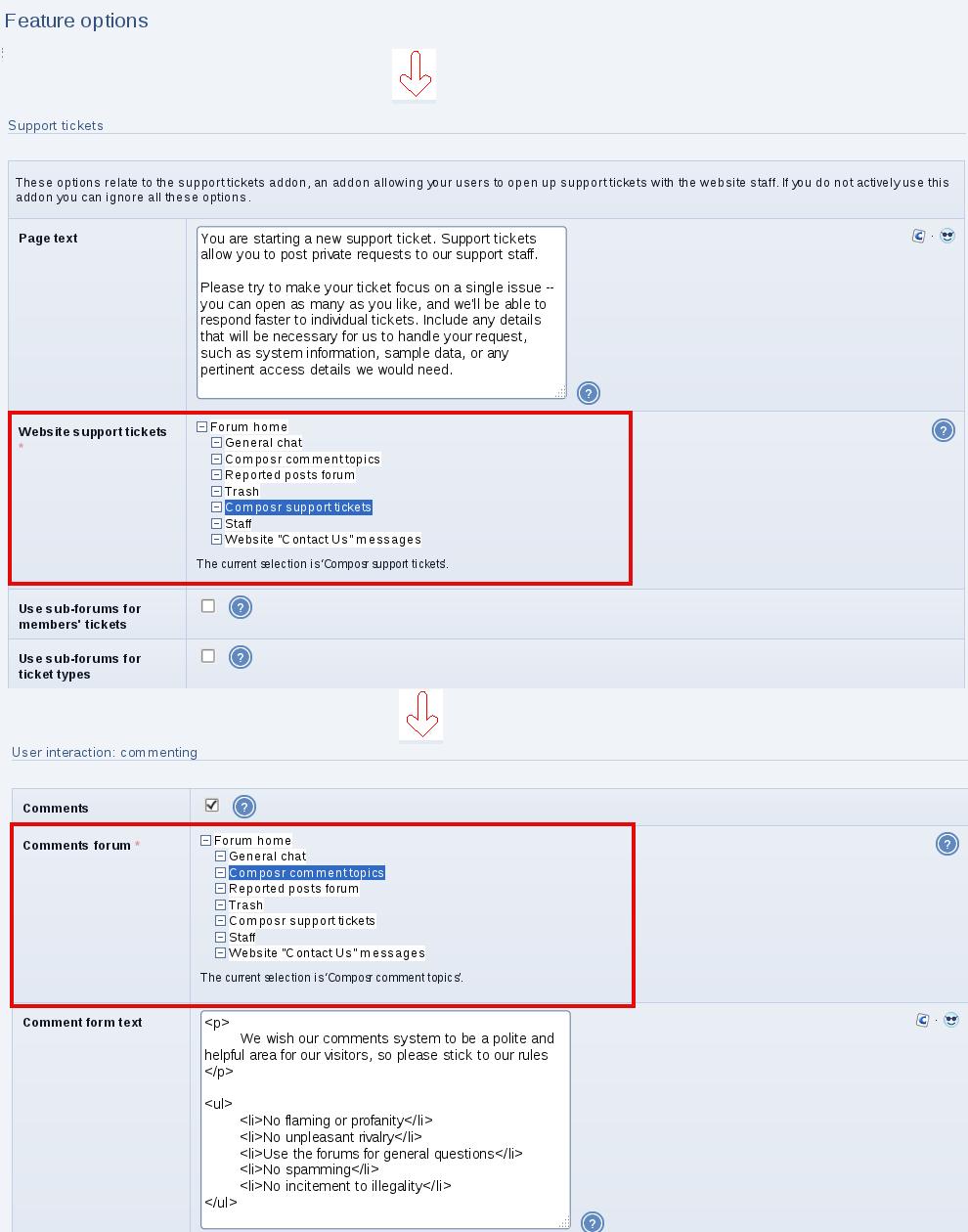 Composr Tutorial: Nuances of forum integration – Composr