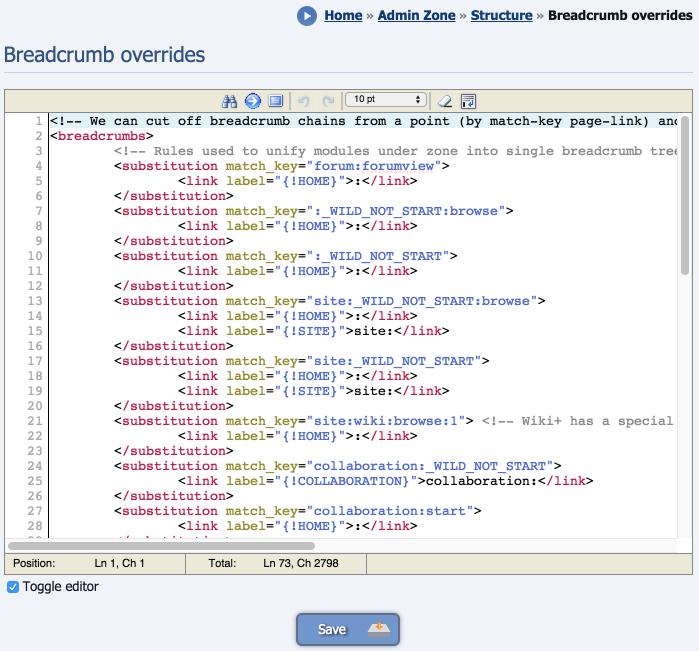 composr tutorial composr site structure composr