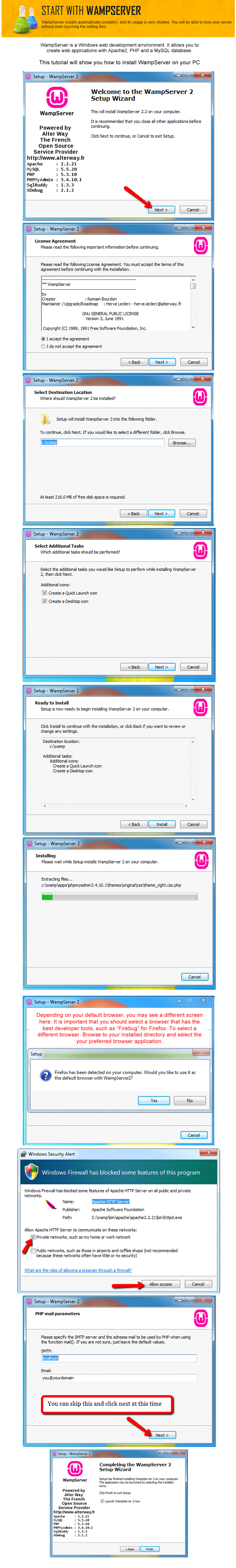 Composr Tutorial: Installing Composr on a Windows desktop – Composr