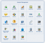 Content Management zone