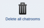 The icon to delete all chatrooms