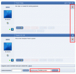 Mass moderation of posts is performed by selecting posts and then choosing an action