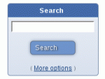 The search block for use in panels (different to the search block in the header)