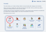 Tools available in the Admin Zone security section