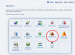 Tools available in the Admin Zone Audit Section